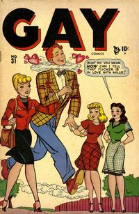 Cover Thumbnail for Gay Comics (Marvel, 1944 series) #31