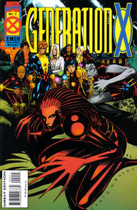 Cover Thumbnail for Generation X (Marvel, 1994 series) #2 [Deluxe Direct Edition]