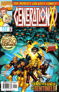 Cover Thumbnail for Generation X (Marvel, 1994 series) #29 [Direct Edition]