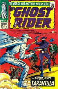 Cover Thumbnail for Ghost Rider (Marvel, 1967 series) #2