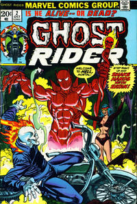 Cover Thumbnail for Ghost Rider (Marvel, 1973 series) #2 [Regular Edition]