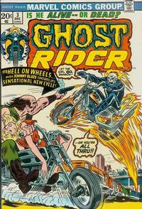 Cover Thumbnail for Ghost Rider (Marvel, 1973 series) #3 [Regular Edition]