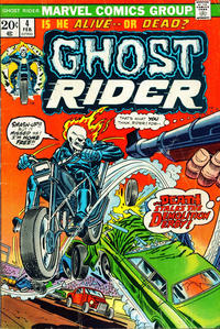 Cover Thumbnail for Ghost Rider (Marvel, 1973 series) #4 [Regular Edition]