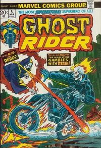 Cover Thumbnail for Ghost Rider (Marvel, 1973 series) #5 [Regular Edition]