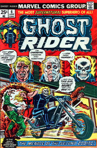 Cover Thumbnail for Ghost Rider (Marvel, 1973 series) #6 [Regular Edition]