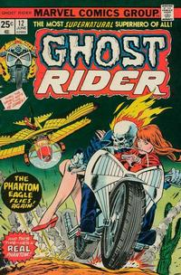 Cover Thumbnail for Ghost Rider (Marvel, 1973 series) #12 [Regular Edition]