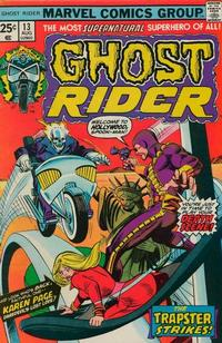 Cover Thumbnail for Ghost Rider (Marvel, 1973 series) #13 [Regular Edition]