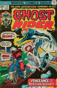 Cover Thumbnail for Ghost Rider (Marvel, 1973 series) #15