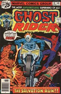 Cover Thumbnail for Ghost Rider (Marvel, 1973 series) #18 [25¢ Cover Price]