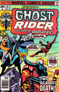 Cover Thumbnail for Ghost Rider (Marvel, 1973 series) #20