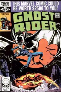 Cover Thumbnail for Ghost Rider (Marvel, 1973 series) #48 [Direct]
