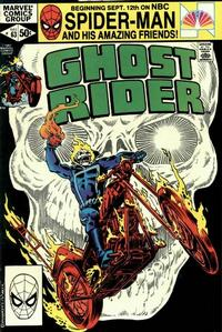 Cover Thumbnail for Ghost Rider (Marvel, 1973 series) #63 [Direct Edition]