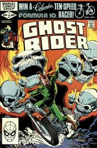 Cover for Ghost Rider (Marvel, 1973 series) #65 [Direct Edition]