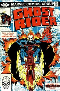 Cover Thumbnail for Ghost Rider (Marvel, 1973 series) #67 [Direct Edition]