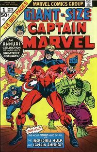 Cover Thumbnail for Giant-Size Captain Marvel (Marvel, 1975 series) #1
