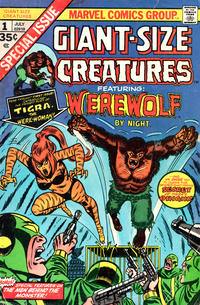 Cover Thumbnail for Giant-Size Creatures (Marvel, 1974 series) #1