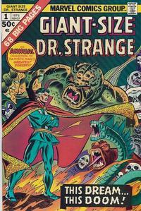 Cover Thumbnail for Giant-Size Doctor Strange (Marvel, 1975 series) #1