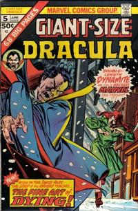 Cover Thumbnail for Giant-Size Dracula (Marvel, 1974 series) #5