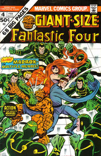 Cover Thumbnail for Giant-Size Fantastic Four (Marvel, 1974 series) #4