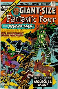 Cover Thumbnail for Giant-Size Fantastic Four (Marvel, 1974 series) #5