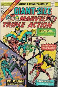 Cover Thumbnail for Giant-Size Marvel Triple Action (Marvel, 1975 series) #1
