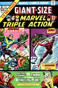Cover Thumbnail for Giant-Size Marvel Triple Action (Marvel, 1975 series) #2