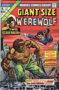 Cover Thumbnail for Giant-Size Werewolf (Marvel, 1974 series) #4