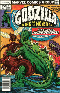 Cover Thumbnail for Godzilla (Marvel, 1977 series) #5