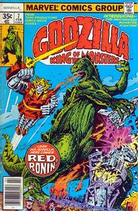 Cover Thumbnail for Godzilla (Marvel, 1977 series) #7