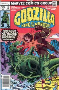 Cover Thumbnail for Godzilla (Marvel, 1977 series) #10