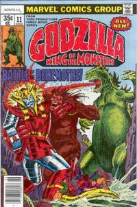 Cover Thumbnail for Godzilla (Marvel, 1977 series) #11