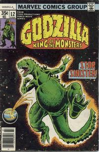 Cover Thumbnail for Godzilla (Marvel, 1977 series) #12
