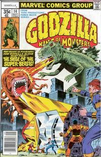 Cover Thumbnail for Godzilla (Marvel, 1977 series) #14