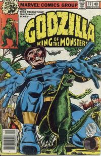 Cover Thumbnail for Godzilla (Marvel, 1977 series) #17