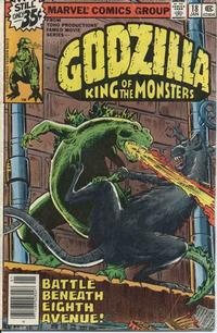 Cover Thumbnail for Godzilla (Marvel, 1977 series) #18
