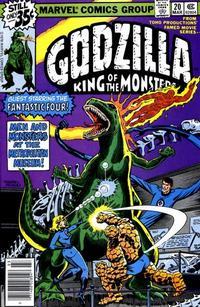 Cover Thumbnail for Godzilla (Marvel, 1977 series) #20