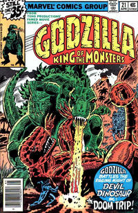 Cover Thumbnail for Godzilla (Marvel, 1977 series) #21