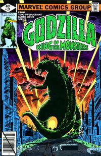 Cover Thumbnail for Godzilla (Marvel, 1977 series) #24 [Direct Edition]