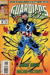 Cover for Guardians of the Galaxy (Marvel, 1990 series) #46