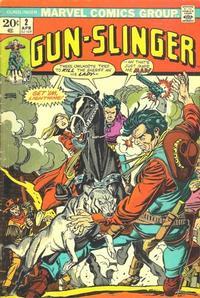 Cover Thumbnail for Gun-slinger (Marvel, 1973 series) #2