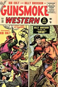 Cover Thumbnail for Gunsmoke Western (Marvel, 1955 series) #32