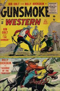 Cover Thumbnail for Gunsmoke Western (Marvel, 1955 series) #33