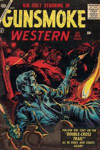 Cover Thumbnail for Gunsmoke Western (Marvel, 1955 series) #37