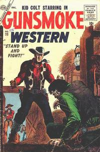 Cover Thumbnail for Gunsmoke Western (Marvel, 1955 series) #38