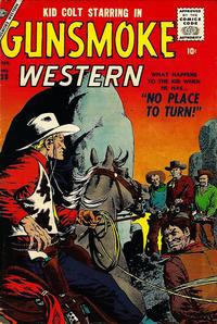 Cover Thumbnail for Gunsmoke Western (Marvel, 1955 series) #39