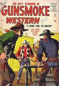 Cover for Gunsmoke Western (Marvel, 1955 series) #42
