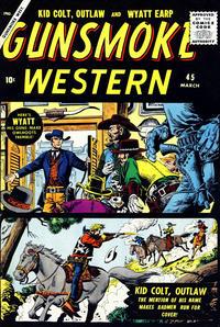 Cover Thumbnail for Gunsmoke Western (Marvel, 1955 series) #45