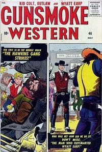 Cover Thumbnail for Gunsmoke Western (Marvel, 1955 series) #46