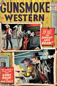 Cover Thumbnail for Gunsmoke Western (Marvel, 1955 series) #47