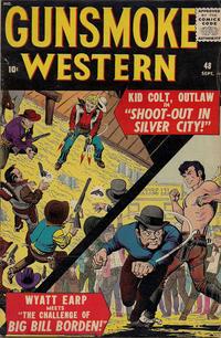 Cover Thumbnail for Gunsmoke Western (Marvel, 1955 series) #48